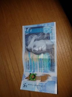 5 libras escocesa