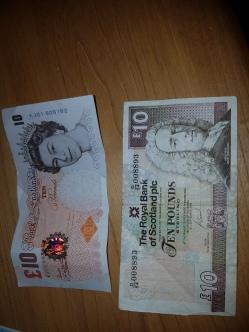 10 libras tradicional e escocesa